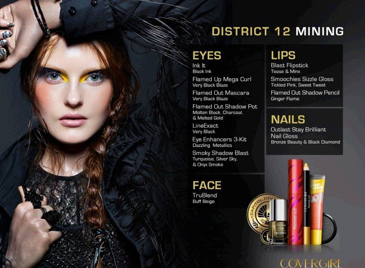Covergirl and Subway 'Hunger Games' Ads Sabotage The Spirit