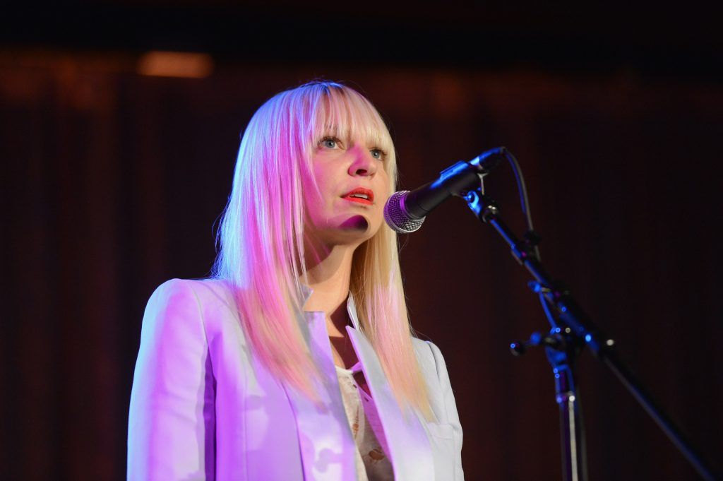 Augusts best top 40 song of the month chandelier by sia australian singer sia takes a path many other popular singers dont in her hit aloadofball Image collections